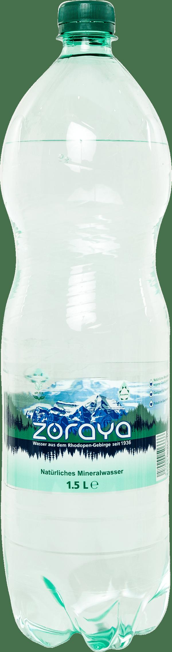 Minerallwasser 1.5l Zoraya